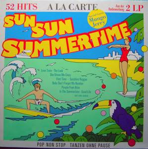 Cover - À La Carte: Sun Sun Summertime