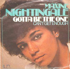 Cover - Maxine Nightingale: Gotta Be The One
