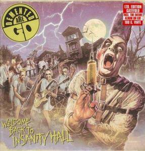 Demented Are Go: Welcome Back To Insanity Hall - Cover