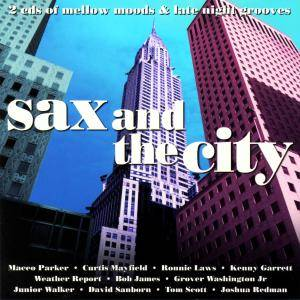 Cover - Grover Washington Jr. & Bill Withers: Sax And The City