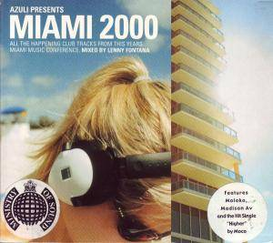 Miami 2000, Azuli Presents - Cover