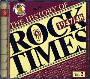 Cover - Francis Craig: History Of Rock Times Volume 02 - 1947/48, The