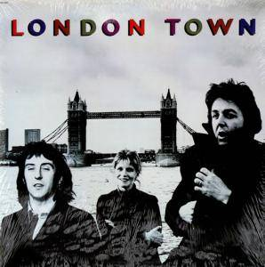 Wings: London Town - Cover