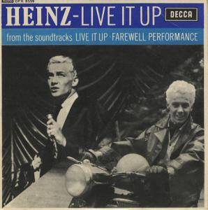 Cover - Heinz: Live It Up