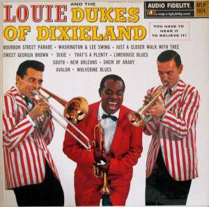 Louis Armstrong & The Dukes Of Dixieland: Louie And The Dukes Of Dixieland - Cover