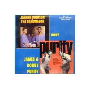 Cover - James & Bobby Purify: James & Bobby Purify Meet Johnny Johnson & The Bandwagon