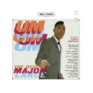 Cover - Major Lance: Um, Um, Um, Um, Um, Um - The Best Of Major Lance