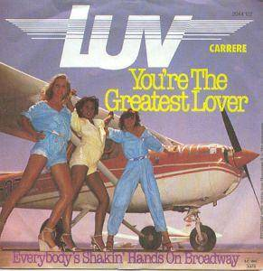 Cover - Luv': You're The Greatest Lover