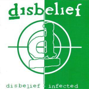 Disbelief: Disbelief / Infected - Cover