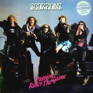 Scorpions: Passion Rules The Game - Cover