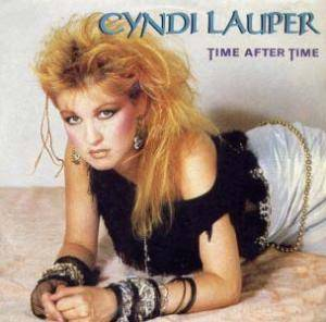 Cyndi Lauper: Time After Time - Cover
