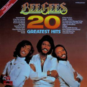 Bee Gees: 20 Greatest Hits - Cover