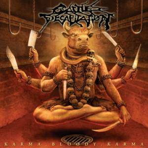 Cattle Decapitation: Karma.Bloody.Karma. - Cover