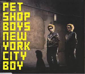 Pet Shop Boys: New York City Boy - Cover
