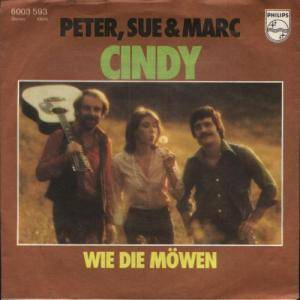 Peter, Sue & Marc: Cindy - Cover