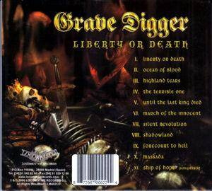 Grave Digger: Liberty Or Death (CD) - Bild 2