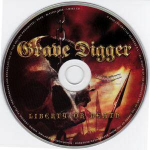Grave Digger: Liberty Or Death (CD) - Bild 3