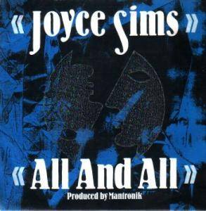 Cover - Joyce Sims: All And All