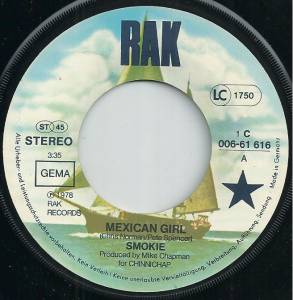 "Smokie: Mexican Girl (7"") - Bild 3"