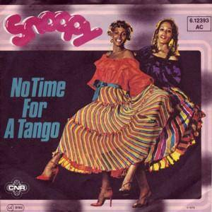 Cover - Snoopy: No Time For A Tango