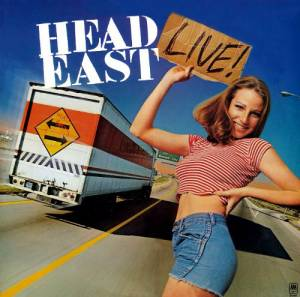 Head East: Live! - Cover