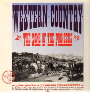 Cover - Sons Of The Pioneers, The: Western Country