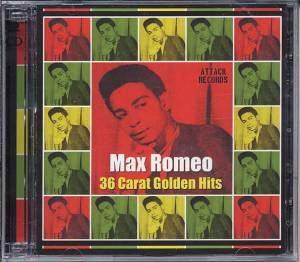 Max Romeo: 36 Carat Golden Hits - Cover