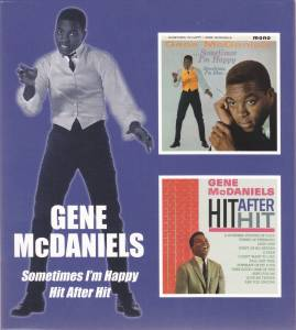 Cover - Gene McDaniels: Sometimes I'm Happy / Hit After Hit