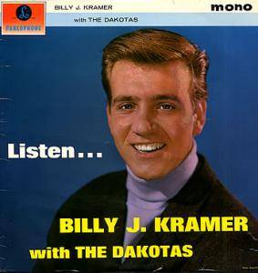 Cover - Billy J. Kramer & The Dakotas: Listen ...