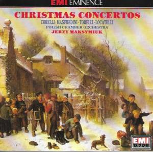 Cover - Francesco Manfredini: Christmas Concertos