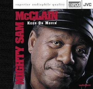 Cover - Mighty Sam McClain: Keep On Movin'