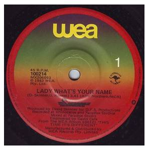 Cover - Swanee: Lady What's Your Name