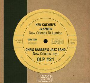 Cover - Chris Barber's Jazzband: New Orleans To London / New Orleans Joys