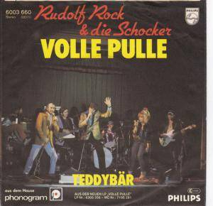 Cover - Rudolf Rock & Die Schocker: Volle Pulle