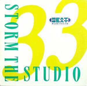 Cover - Meat Beat Manifesto: Storm The Studio