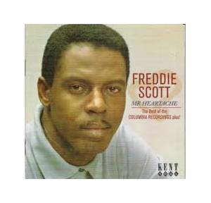 Cover - Freddie Scott: Mr Heartache - The Best Of The Columbia Recordings Plus!