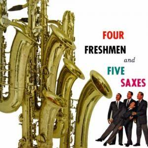 Cover - Four Freshmen, The: Four Freshmen And Five Saxes