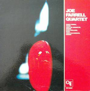 Joe Farrell Quartet: Joe Farrell Quartet - Cover