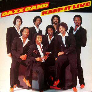 Cover - Dazz Band: Keep It Live