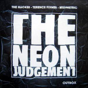 The Neon Judgement: Outbox - Cover