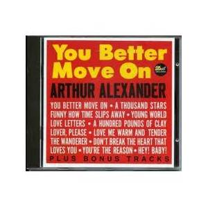 Cover - Arthur Alexander: You Better Move On