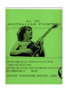 AC/DC: Australian Fighters - Cover