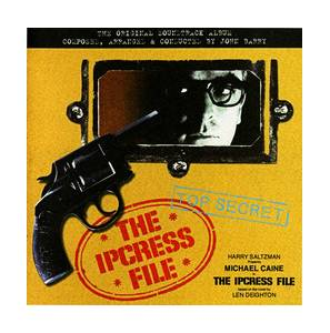 Cover - John Barry: Ipcress File, The
