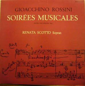 Cover - Gioachino Rossini: Soirées Musicales