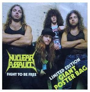 Nuclear Assault: Fight To Be Free - Cover