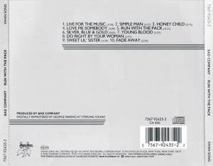 Bad Company: Run With The Pack (CD) - Bild 5