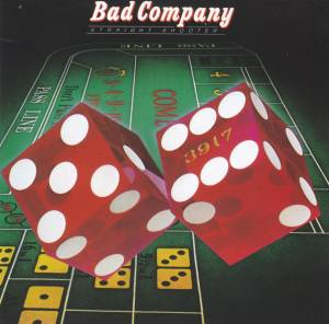 Bad Company: Straight Shooter - Cover