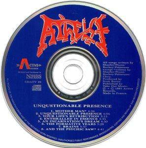 Atheist: Unquestionable Presence (CD) - Bild 4