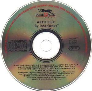 Artillery: By Inheritance (CD) - Bild 3