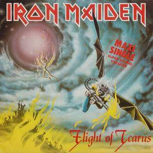 Iron Maiden: Flight Of Icarus - Cover